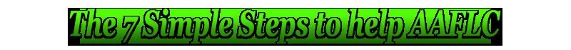 7 Steps aaflc AAFLC 7 Steps